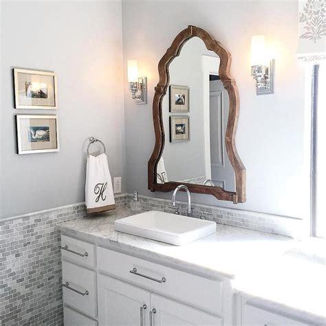 white  silver bathroom design  monogram towels