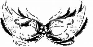 Masks Black And White Clipart (26+)