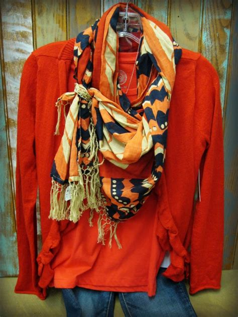 wear wednesday knotted waterfall scarf tie
