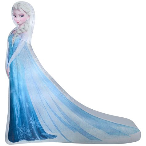 disney  elsa photorealistic airblown lighted inflatable