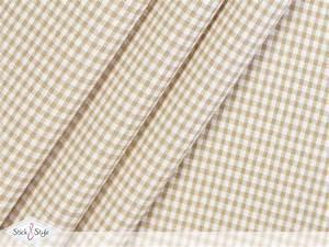 Baumwollstoff Meterware Günstig : stoff baumwollstoff kleinkariert beige stoffe und meterware g nstig online ~ Markanthonyermac.com Haus und Dekorationen