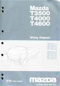 Mazda T Series  Wg  06  1995 Wiring Diagram Manual T3500  T4000  T4600 Mazda Motor Corporation