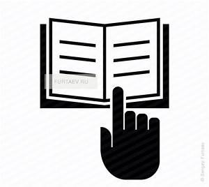 Read Manual Vector Icon