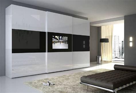 armadio con tv anta led camere da letto moderne mobili sparaco