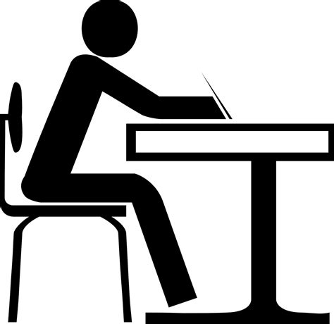 Student At Desk Clipart Many Interesting Cliparts