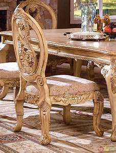 Antique white dining room furniture tuscany dining room set for Tuscany dining room furniture