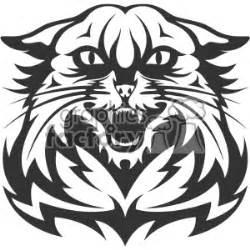 wildcat head vector art cartoon clipart images  clip