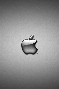 white apple logo wallpaper for iphone