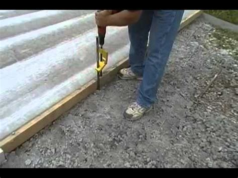 hsp 12r stake puller powers stakes though concrete youtube