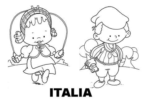 disegni bambini mondo da colorare disegni da colorare i bambini nel mondo italia
