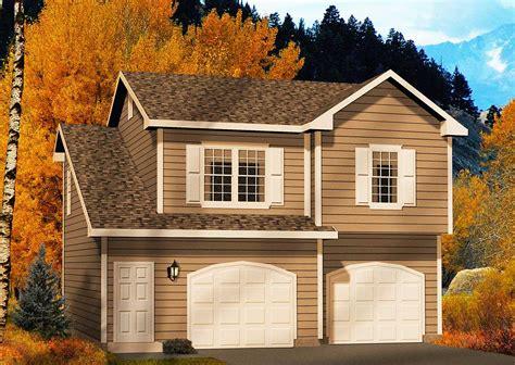 Garage Wohnung two car garage apartment 2245sl architectural designs