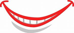 Smile Mouth Teeth clip art Free vector in Open office ...