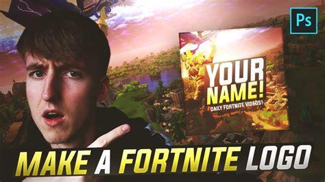 fortnite logoprofile picture  photoshop