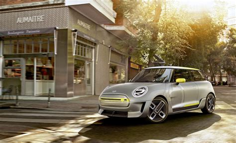 bmw minivan concept bmw shows off its all electric mini concept
