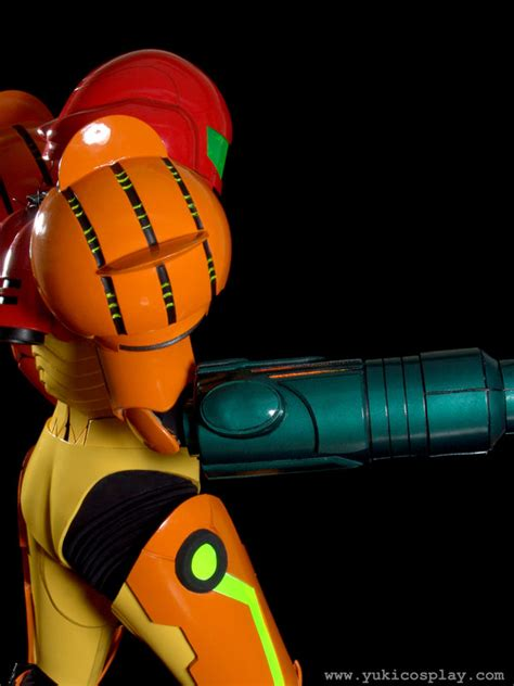 Brazilian Cosplayer Does A Wonderful Samus Cosplay