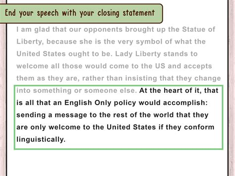 How Do You Write A Paper In Third Person by 3 Ways To Write A Speech If You Re Third Speaker Wikihow