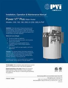 Pvi Power Vt Plus Installation Manual