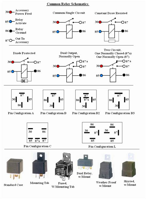 foab  aa relay specs ourclipart