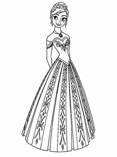 Coloring Pages Elsa Mermaid Printable Getcolorings