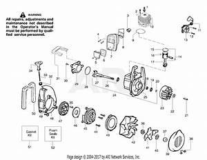 Poulan Bv1800 Gas Blower Type 3  1800 Gas Blower Type 3