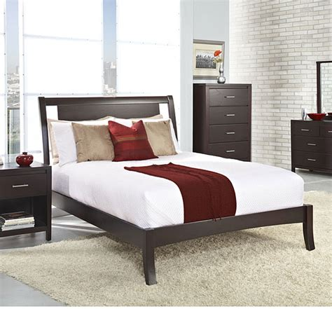 floating panel full size sleigh bed contemporary