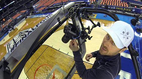 ncaa basketball final  backboard camera tutorial youtube