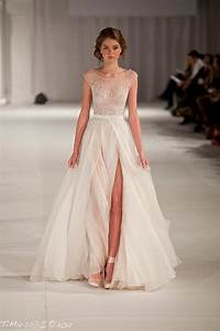 illusion neckline wedding dresses belle chic With beaded top wedding dress
