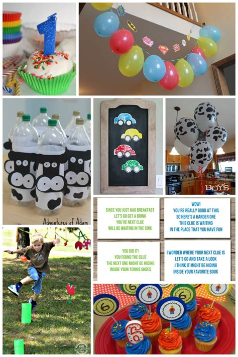 50+ Fun Birthday Ideas for Boys