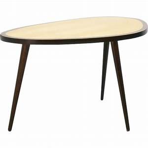 Petite Table En Bois : petite table d 39 appoint en bois 1950 design market ~ Teatrodelosmanantiales.com Idées de Décoration