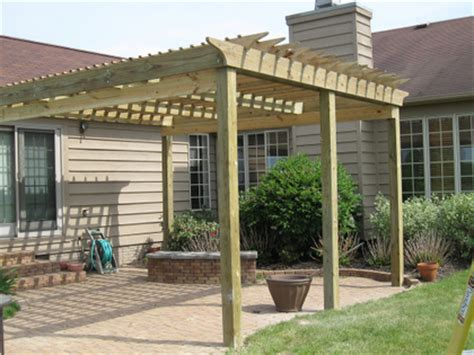 Einfache Pergola Bauen by Simple Tips On How To Build A Pergola