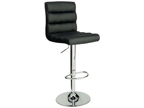 tabouret de bar city coloris noir vente de bar et tabouret de bar conforama