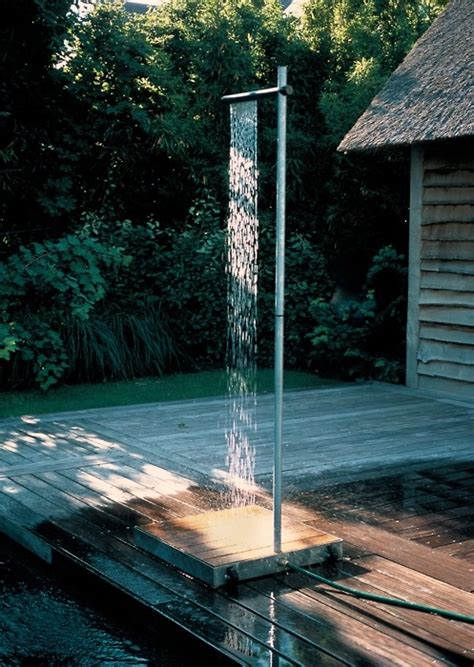 Pretty Simple Outdoor Shower  Ideas Pinterest