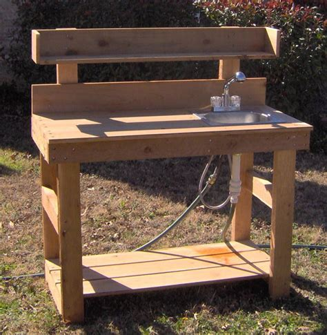 potting bench with sink brand new 6 foot deluxe cedar potting bench with sink free