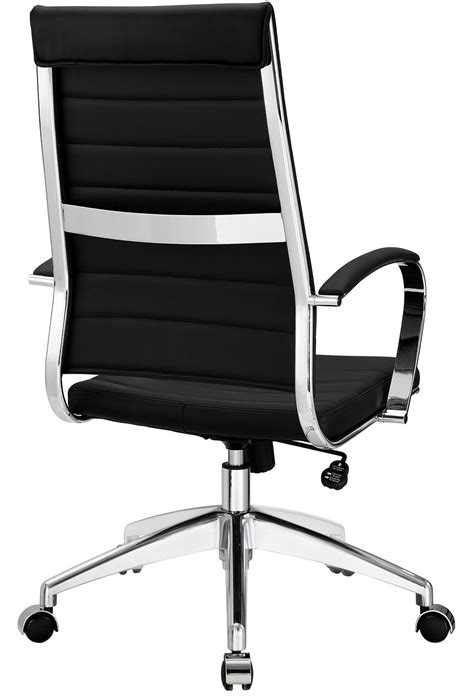 leather high back office chair many colors