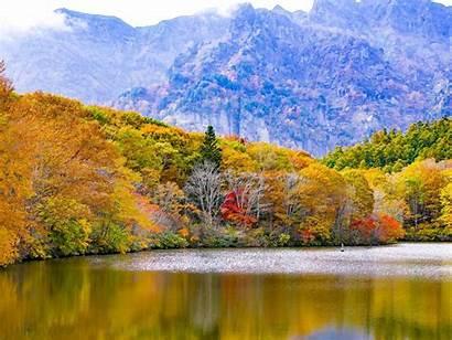 Scenery Japan Lake Mountains Togakushi 10wallpaper Wall