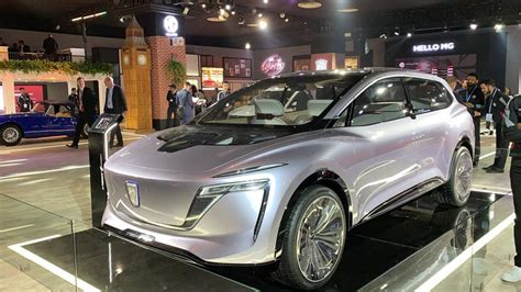 MG showcases Roewe Vision-i Concept, future of automobiles ...