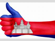 Free illustration Cambodia, Flag, Hand, National Free