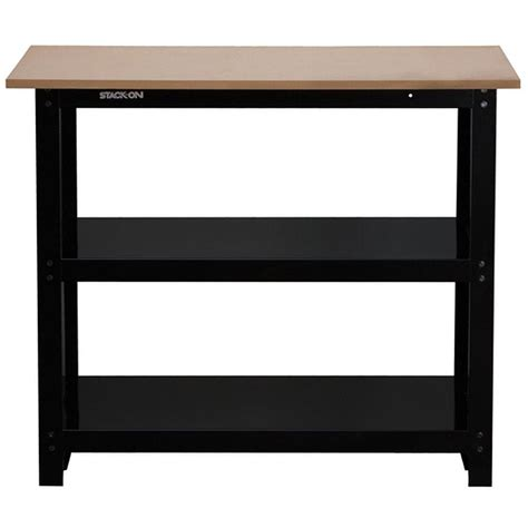 Husky 3 Ft Stackon Compact Steel Workbench With Rugged