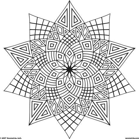 geometric designs to color free designs color geometrip free