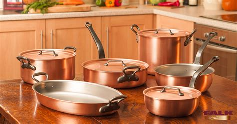falk classical range chefs set falk copper cookware