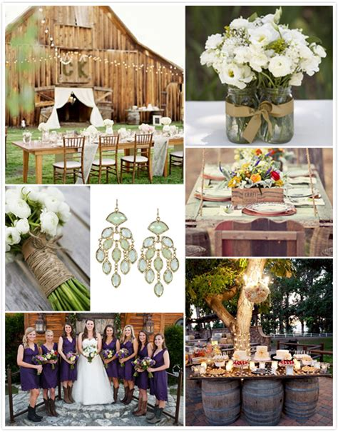 Country Backyard Wedding Ideas by Tidebuy