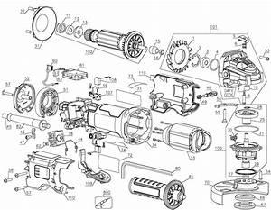 Dwe43114 Dewalt Grinder Parts