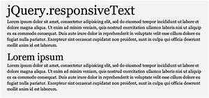 Responsive Text  U0026 Grid Plugin With Jquery