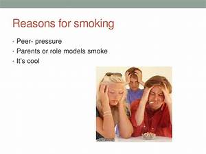 Smoking Presentation