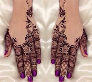 Simple Pakistani mehndi designs for Eid 2017