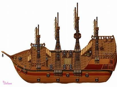 Tiles Ship Exterior Celianna Parallax Outros Overlay