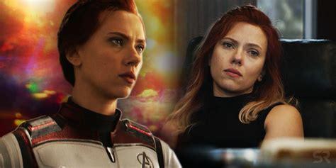 black widow  avengers endgame team leader hair change time travel