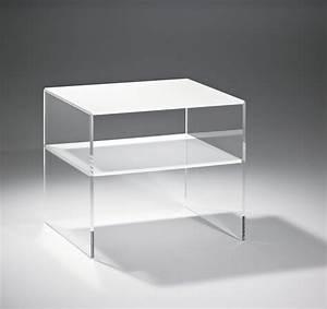 Beistelltisch vegas acryltisch tisch aus acryl glas 56 cm for Acryl tisch