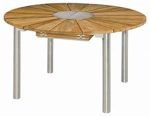 Gartenmöbel Tisch Rund : zebra catax tisch rund 135 cm ausziehbar auf 185 cm talaso gartenm bel outlet online shop ~ Indierocktalk.com Haus und Dekorationen