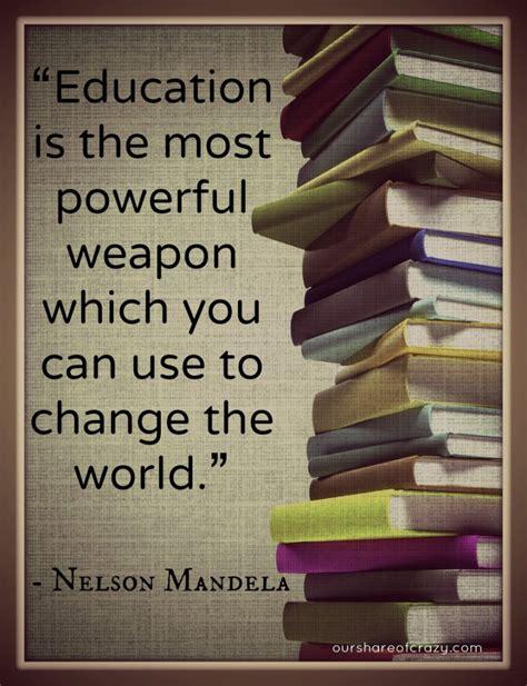 mandela  education quotes quotesgram